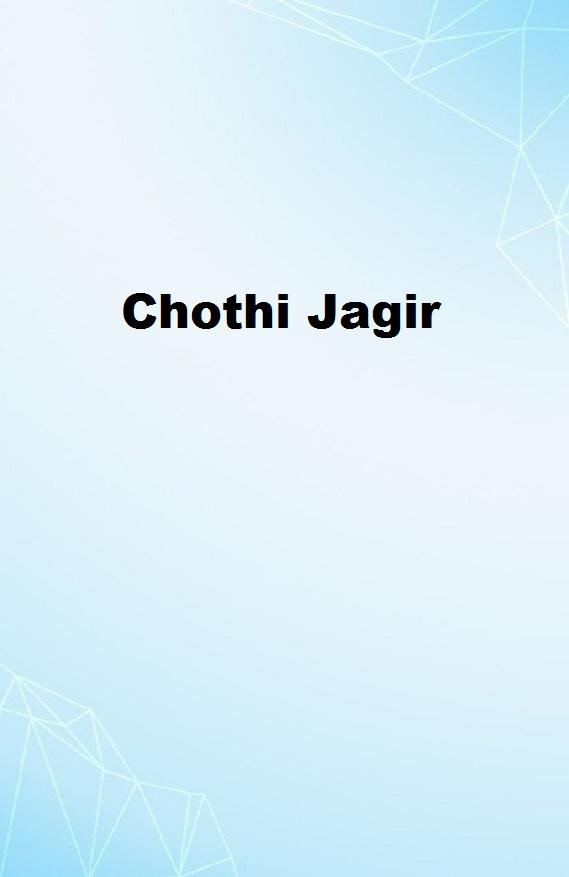Chothi Jagir