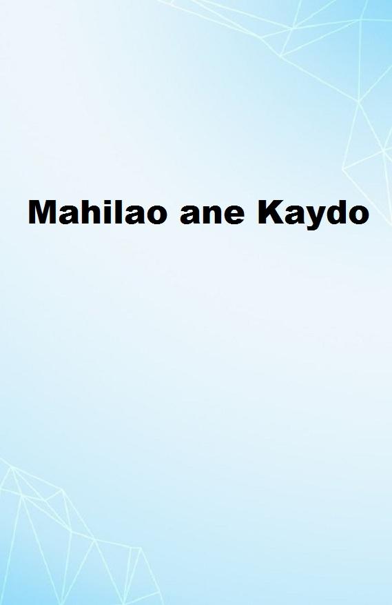 Mahilao ane Kaydo