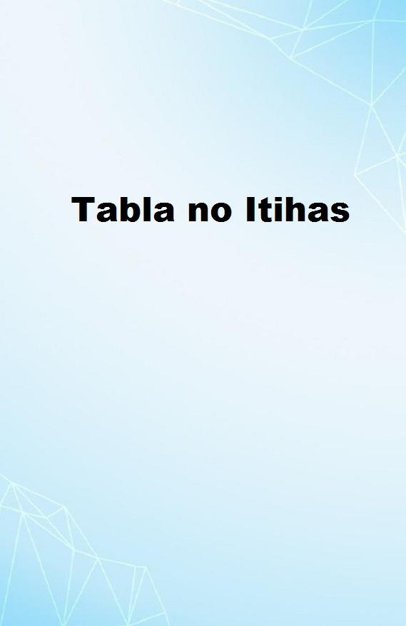 Tabla no Itihas