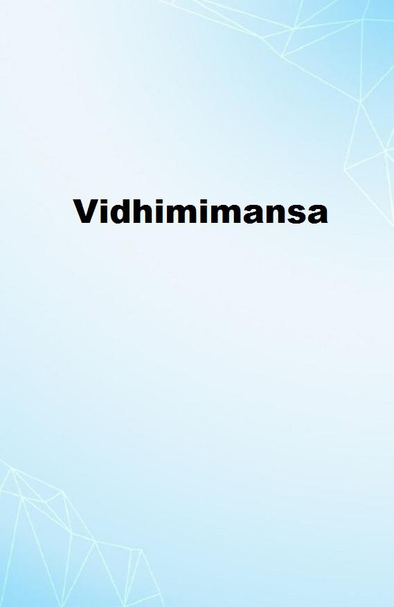 Vidhimimansa